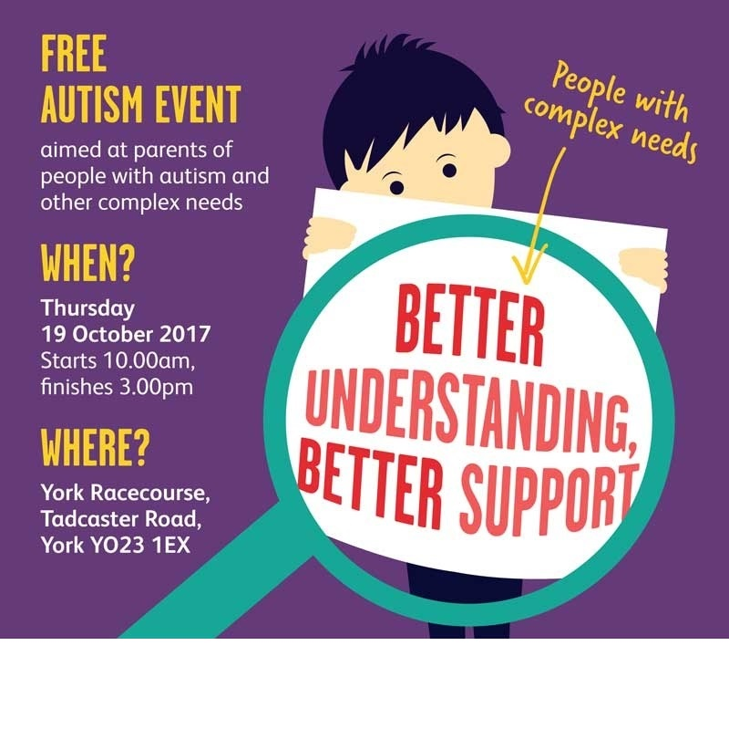 FREE - AUTISM & COMPLEX NEEDS EVENT FOR PARENTS IN YORK